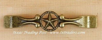 Drawer Handle with the Texas Lone Star