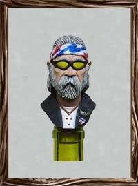 Road Warrior - Texas  Wine Stopper