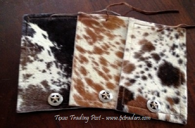 Texas Cowhide Wrap with Texas Concho