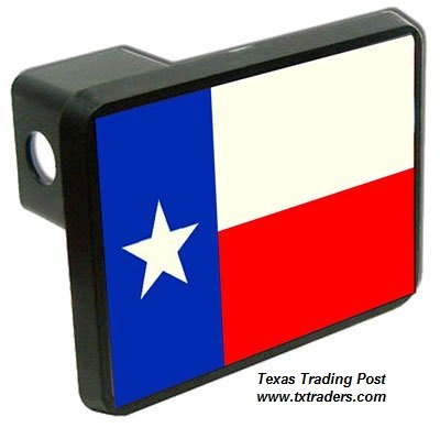 Texas Flag Trailer Hitch Cover