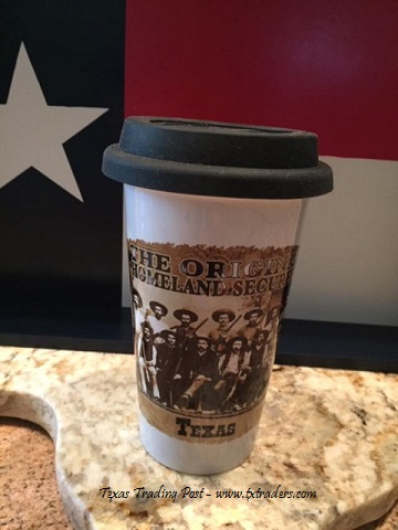 Texas Travel Mug - The Original Homeland Security Mug
