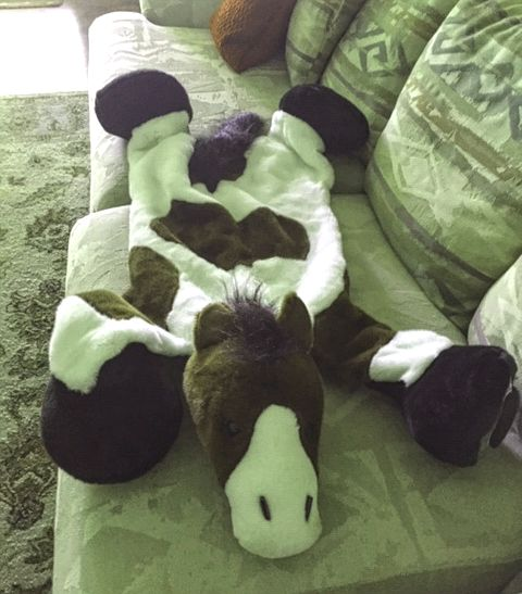 Plush Horse Rug for Kids
