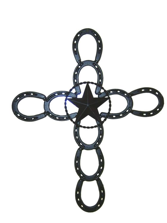Horseshoe Cross - Texas Size