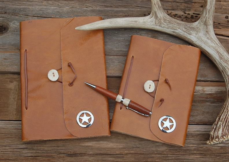 Taking Texas with me Cowboy Journal-Made in Texas!