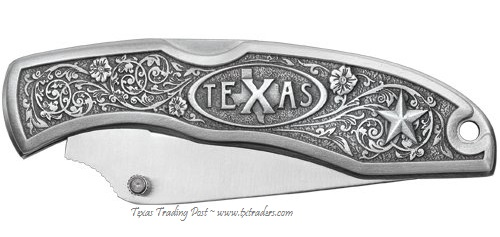 Texas Pocket Knife by Heritage Pewter