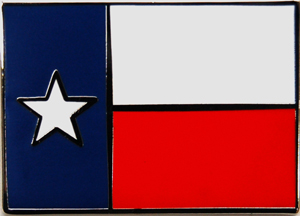 Lapel Pin Texas Flag