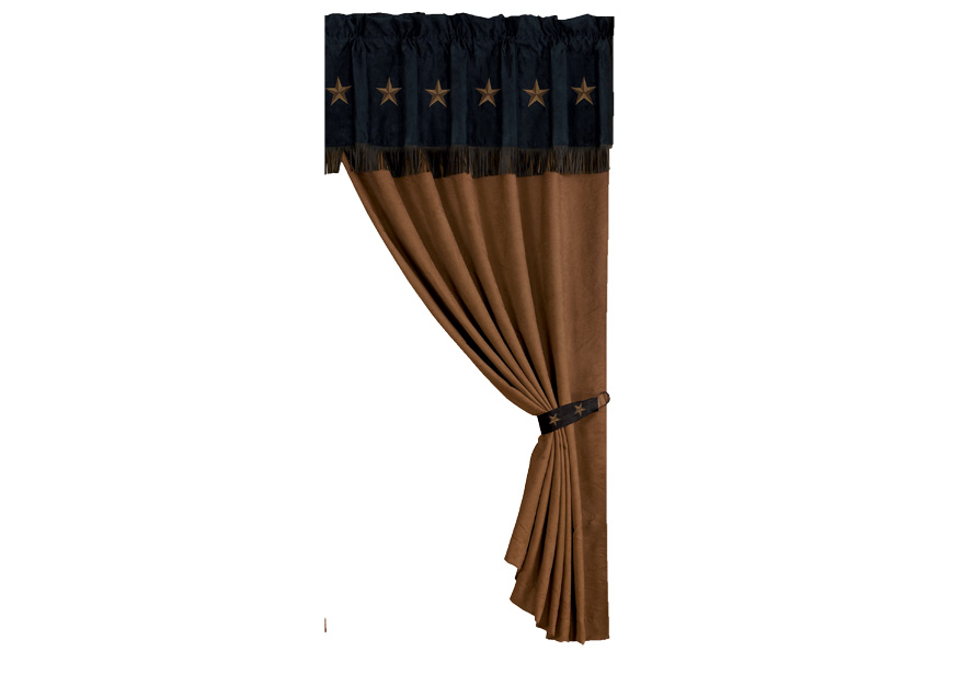 Laredo Curtain with Valance