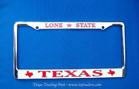 Lone Star State Texas License Plate Holder
