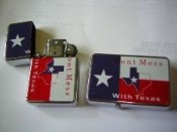 Don't Mess with Texas Zippo Replica Lighter