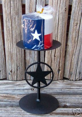 Texas Lone Star Candle Holder