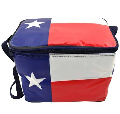 Insulated Texas Flag Lunch Box