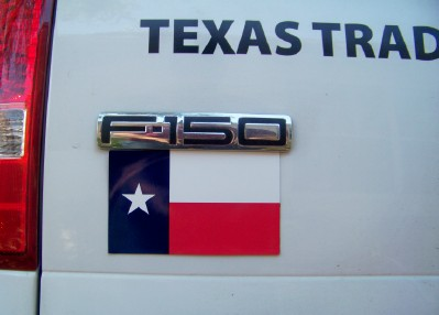 Texas Flag  for Truck or Car Magnet