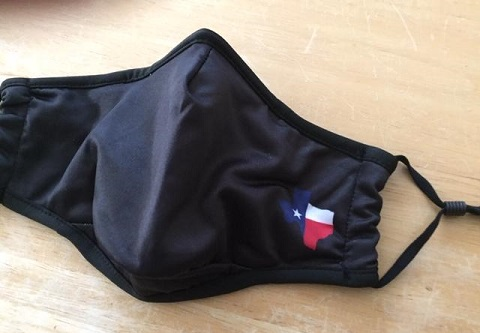 Texas Cloth Face Mask for COVID-19 - Face Cover