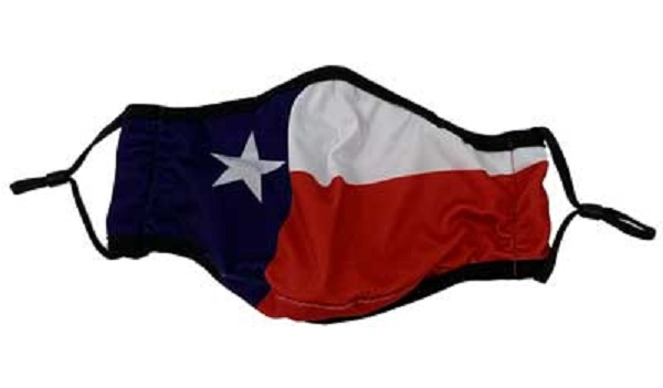Texas Flag Cloth Face Mask for COVID-19