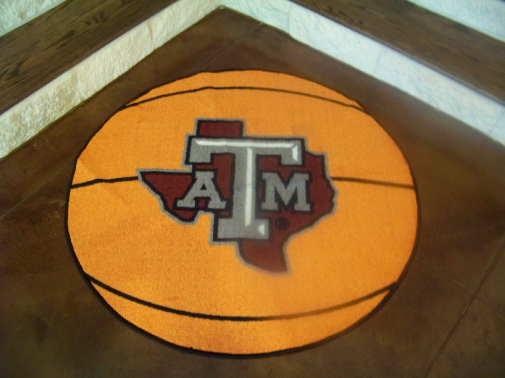 Texas Aggie Basketball Fan Mat