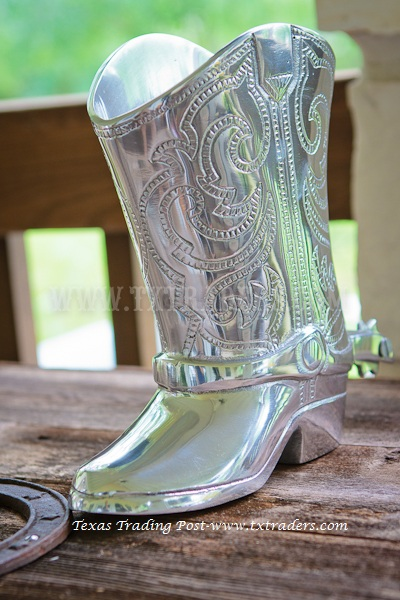 Boot Planter - Texas Cowboy Boot