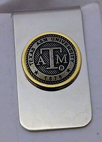 Texas A&M Money Clip