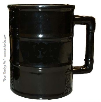 Texas Oilfield Black Gold Ceramic Coffee Mug