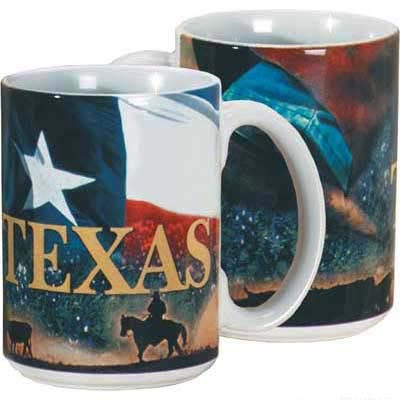 Texas Collage Coffee Mug
