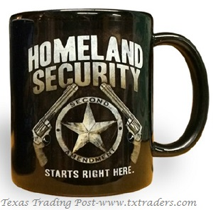 Coffee Mug Homeland Security 2nd Amendment