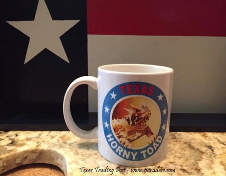Texas Coffee Mug - Texas Horny Toad