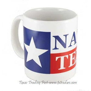 Coffee Mug - Native Texan with the Texas Flag