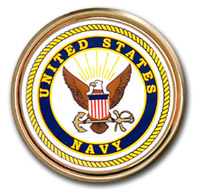 Car or Truck Auto Emblem - United States Navy