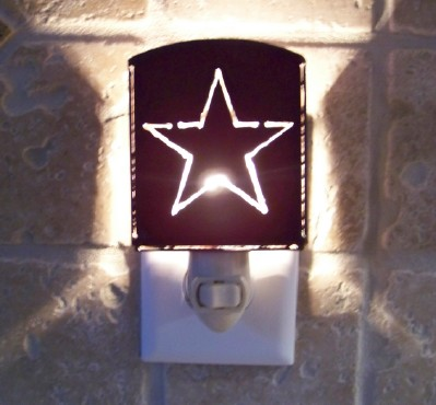 Texas Lone Star Night Light