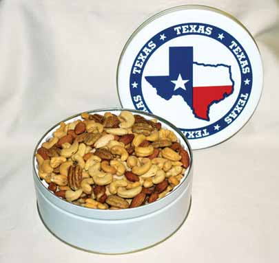 Texas Deluxe Nut Mix - Texas Pecans and Nuts