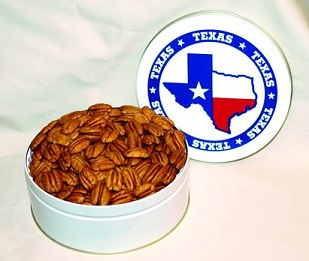 Texas Pecans and Nuts Gift Tins