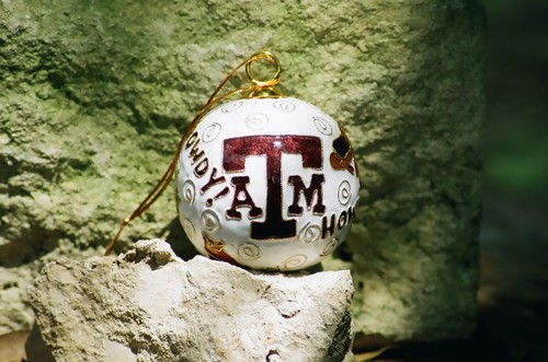 Cloisonne Texas A&M Traditions Ornament