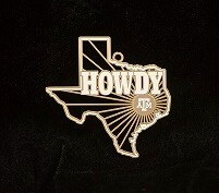 Texas A&M Collector's Ornament - 2014 - Howdy