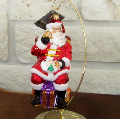 "Christopher Radko ""Midnight Treat"" Christmas Ornament"