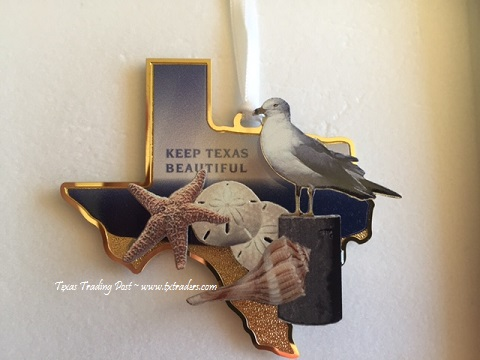Keep Texas Beautiful Ornament 2015 - 12th Edition