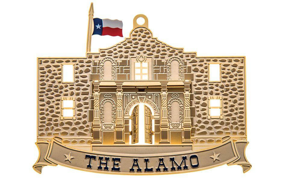 Texas State Capitol Ornament - The Alamo