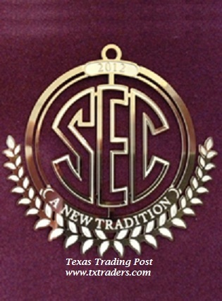 Texas A&M Collector's Ornament - 2012 - SEC - A New Tradition