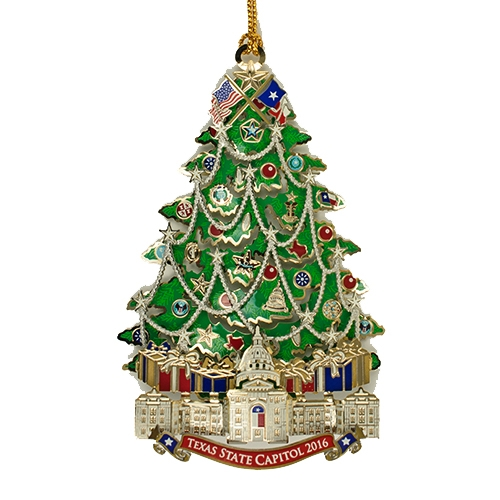 Texas State Capitol Ornament 2016