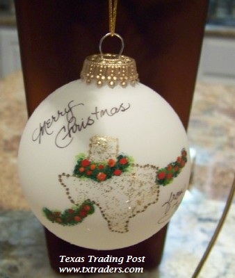 Jo Pollock - From Texas with Love 2012 Christmas Ornament