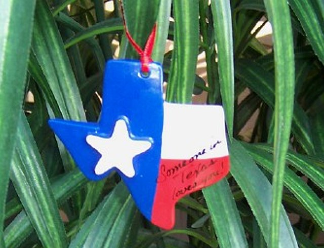 Ornament Someone In Texas Loves You