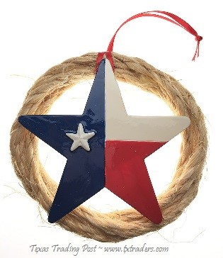 Texas Lone Star Ornament