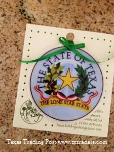 Texas Ornament - State of Texas Seal
