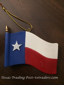 Texas Year 'Round Ornament - Texas Flag