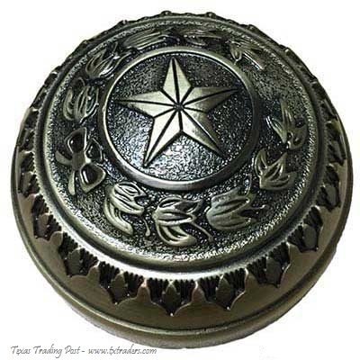 Texas Capitol Dome Brass Paperweight