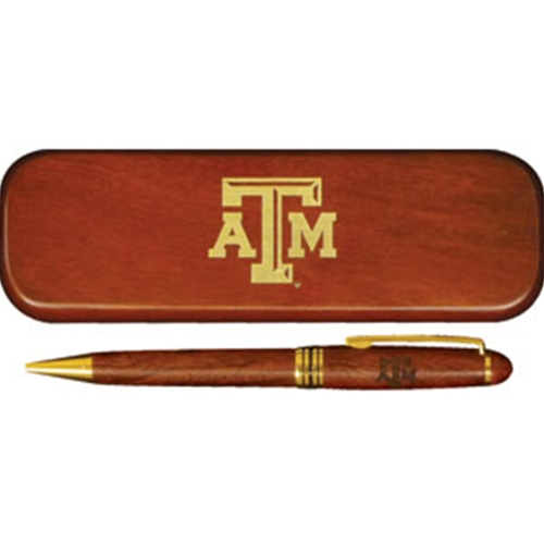 Boxed Pen Set with the Texas A&M Logo