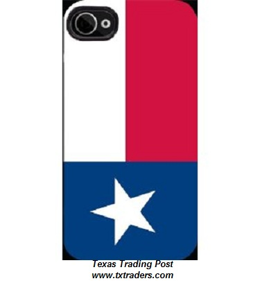 Cell Phone Cover with the Texas Flag - Fits iPhones