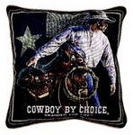Cowboy by Choice Pillow