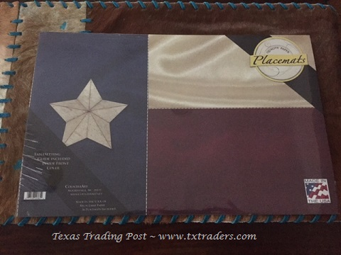 Texas Flag Paper Placemats