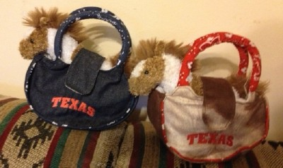 Pony Purse for Texas Little Girls