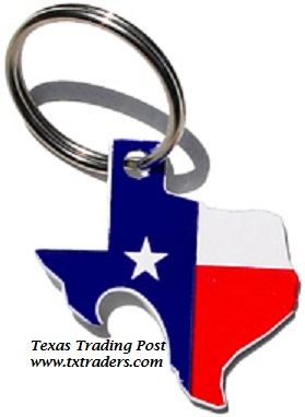 Bottle Opener - Texas Flag Pop A Top