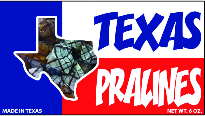 Texas Pralines - 6 ounce Box of Texas Candy